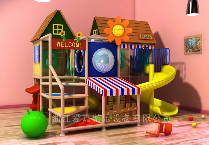 Indoor Playground for Kids at Home photo,Details about Indoor ...