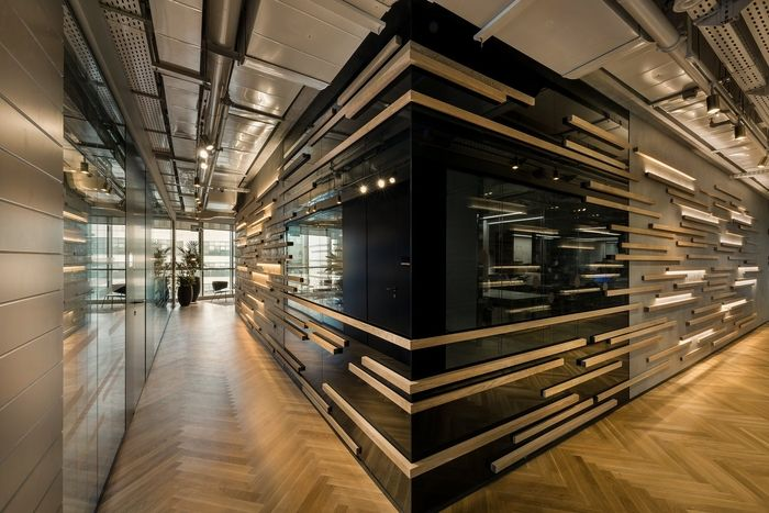Office Tour: Danyel Biotech Offices U2013 Rehovot. Corridor DesignWall FinishesFeature  ...
