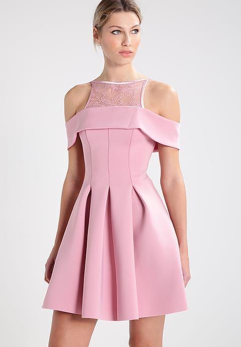 42c63af32 Vestido de cóctel - pink