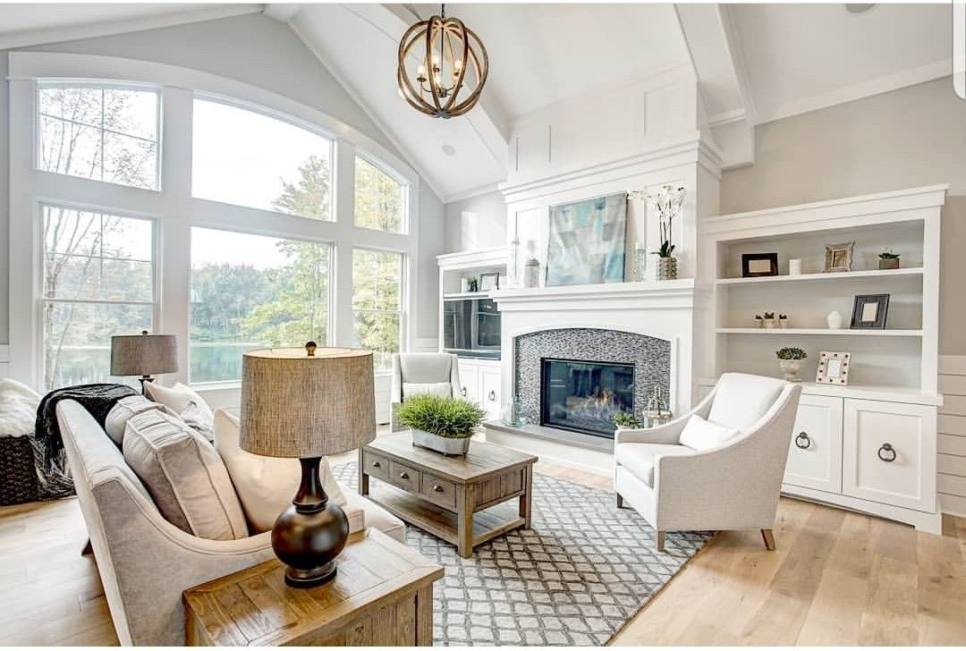white oak floors by naturally aged flooring color is on colors for farmhouse living room id=75989