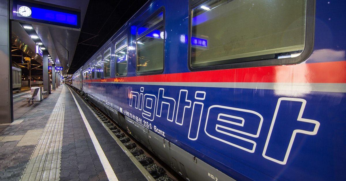 Osterreichische Bundesbahn Kurzt Nachtzug Nach Berlin Nachtzug