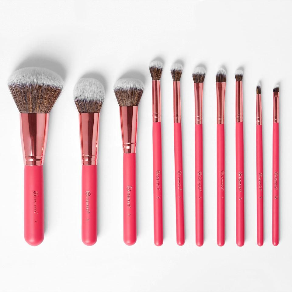 Bombshell Beauty Bh Cosmetics Brushes Makeup Brush Set It Cosmetics Brushes