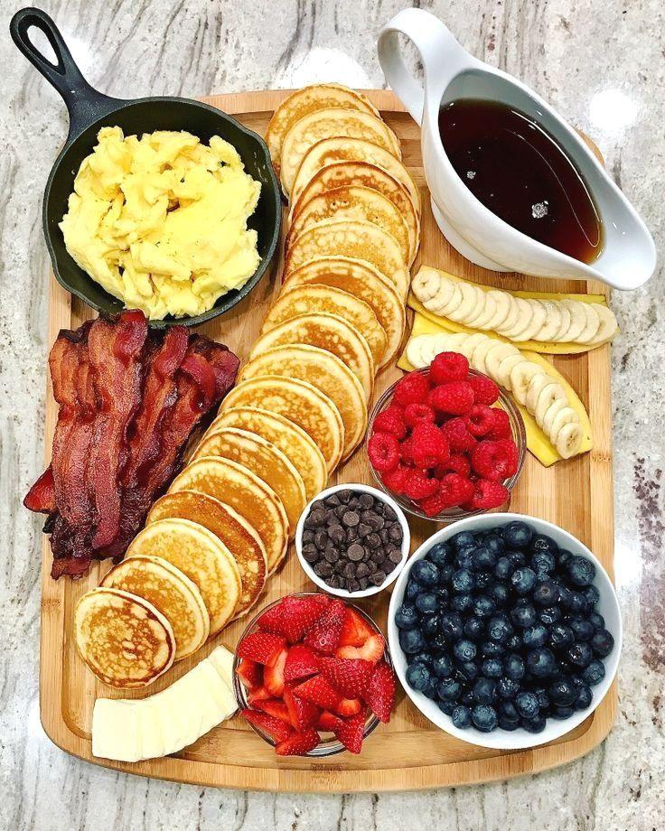 Pancake Board – a creative way to serve breakfast, brunch or brinner!