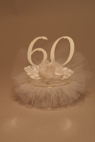 60th Wedding Anniversary Cake Topper GOS Amazon