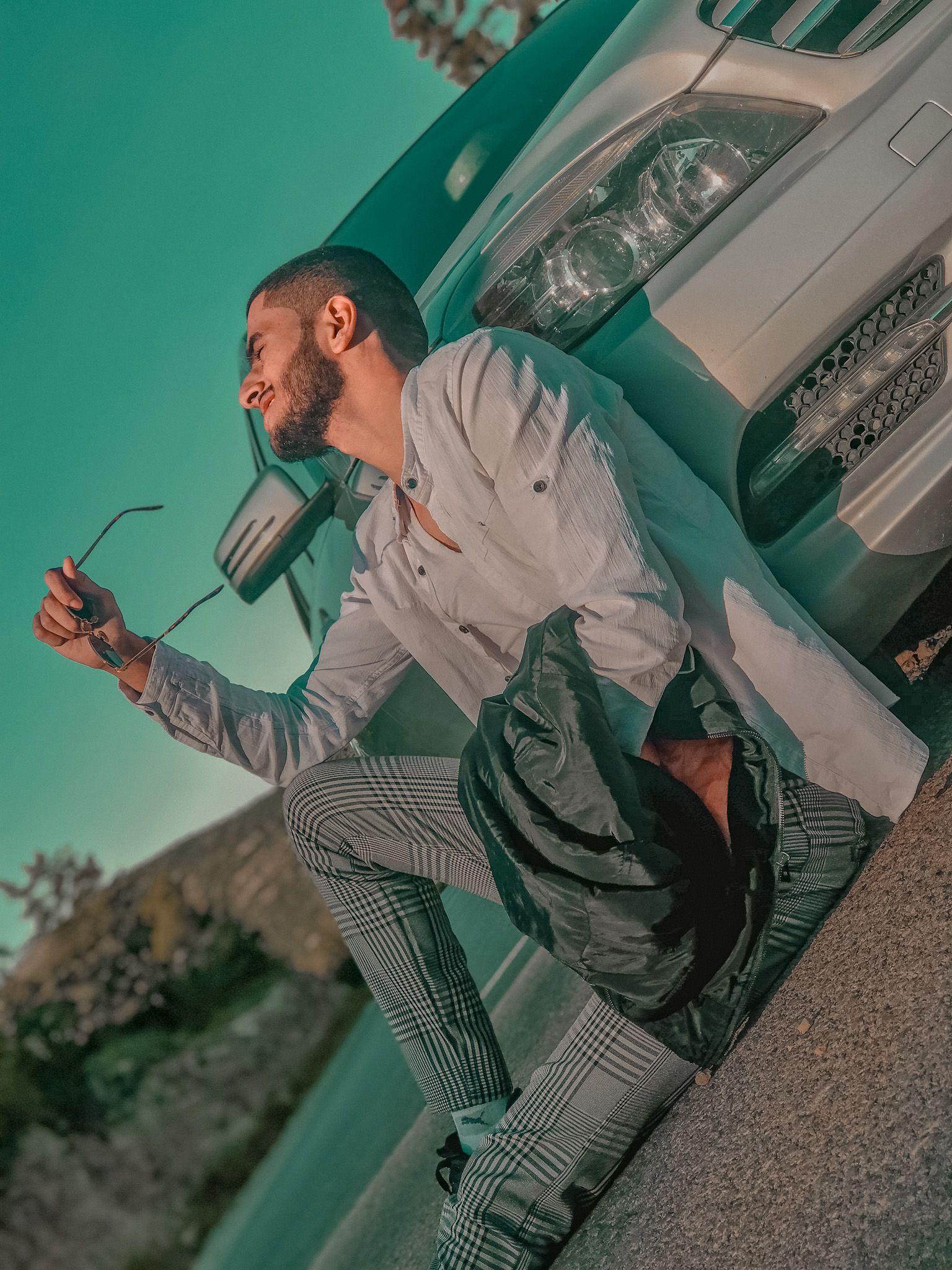 شباب حلوين للتصميم شباب عراقيين شباب كشخه Biker Photoshoot Cosplay Boy Instagram Photo