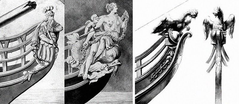 from blog- Dark Roasted Blend: Ship Figureheads: Symbols of the Sea