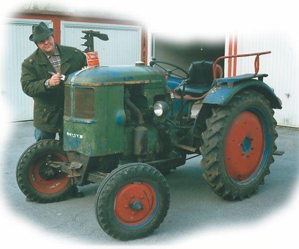 Traktor Reparaturfarbe Typ Fendt Grun Traktoren Tractors