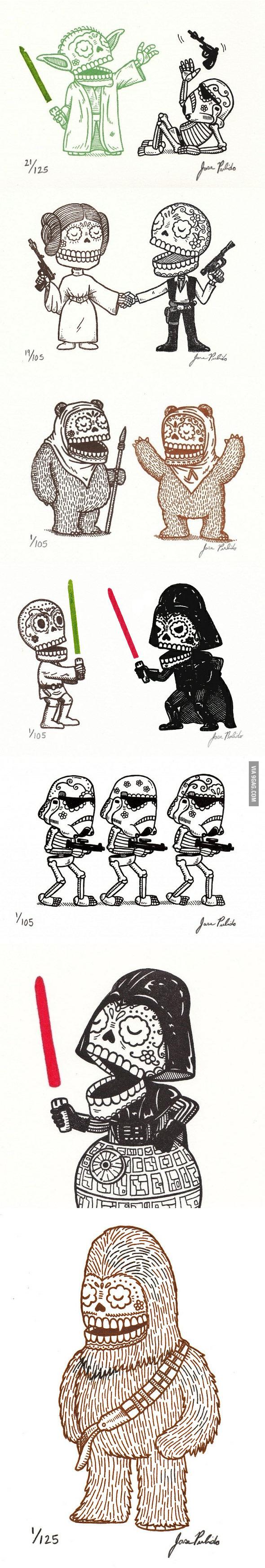 Skull Star Wars