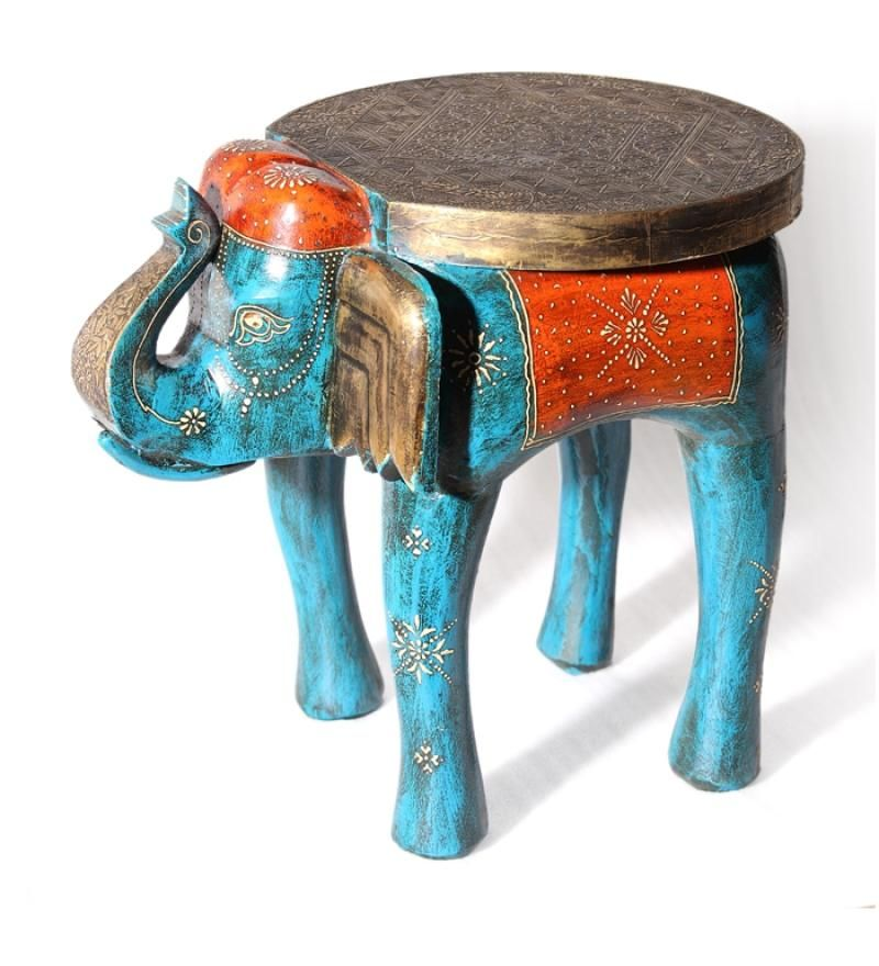 Blue Elephant Table. These Would Make Such Unique End Tables #lgpintowin
