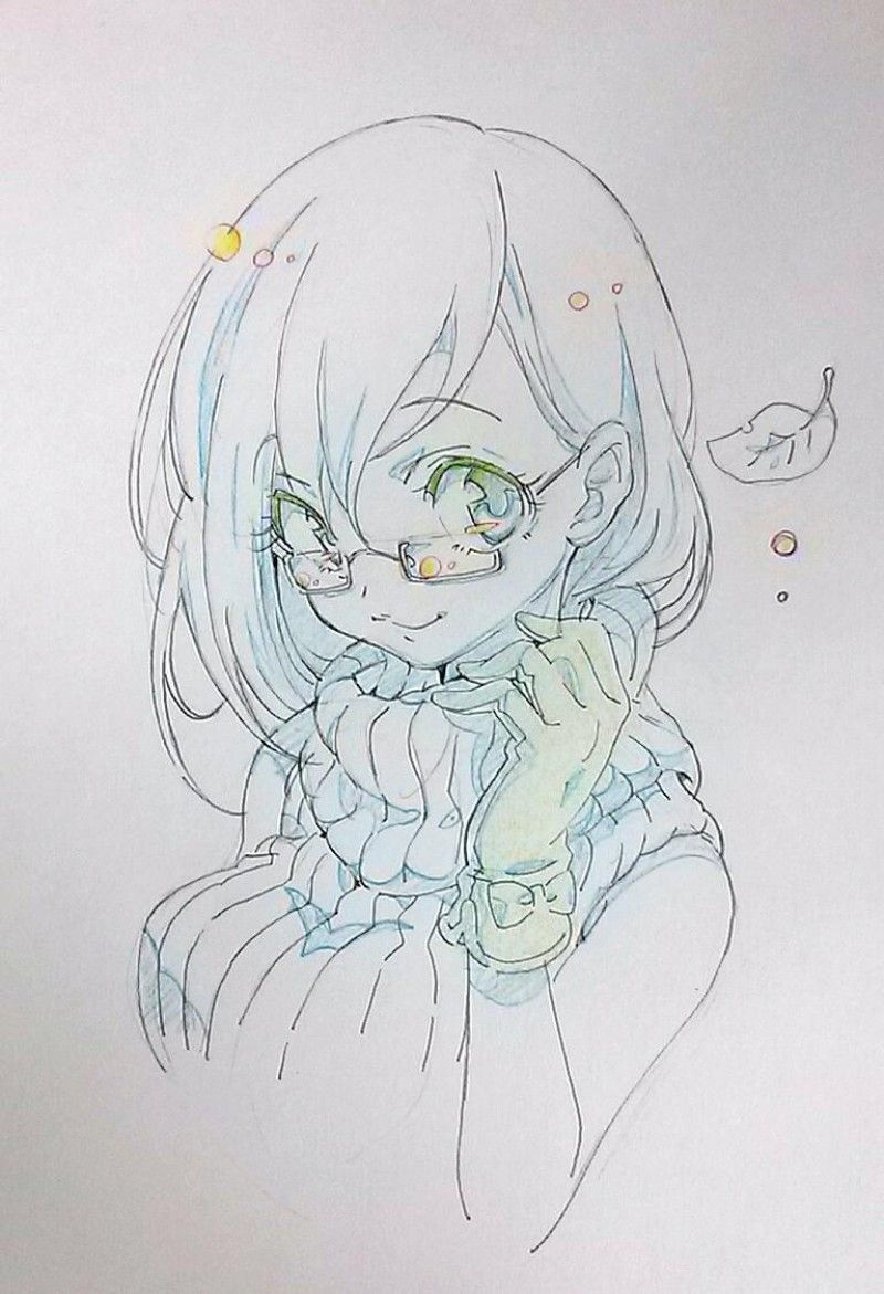 Fille Manga 2 Anime Drawings Dessin Dessin Manga Dessin