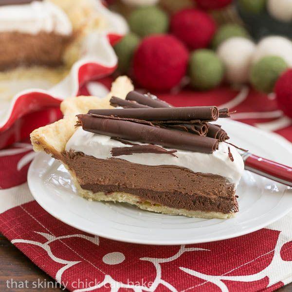 Black Bottom Chocolate Mousse Pie | Recipe | Desserts ...