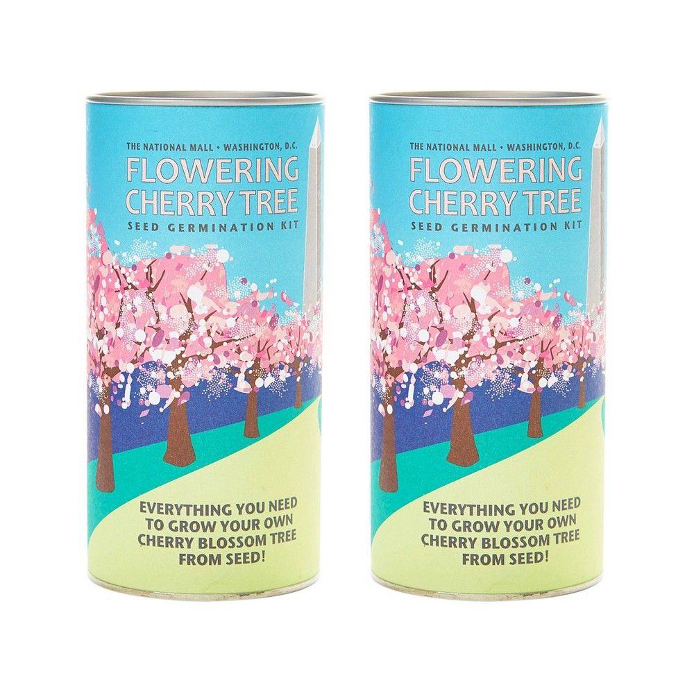 2pk Flowering Cherry Blossom Seed Grow Kit The Jonsteen Company Grow Kit Cherry Blossom Ornamental Cherry