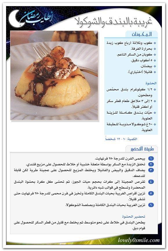 كتالوج أكلات أطايب رمضان لعام بالصوربالهناء والعافية 51333alsh3er Gif