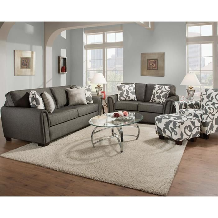 Best Contemporary Sofa Loveseat And Accent Chair Nebraska 400 x 300