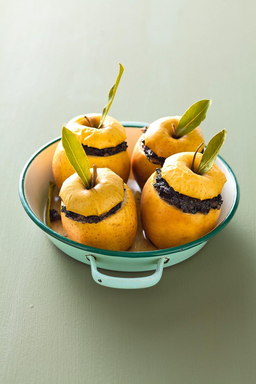 Pommes farcies au boudin noir #recettesympa