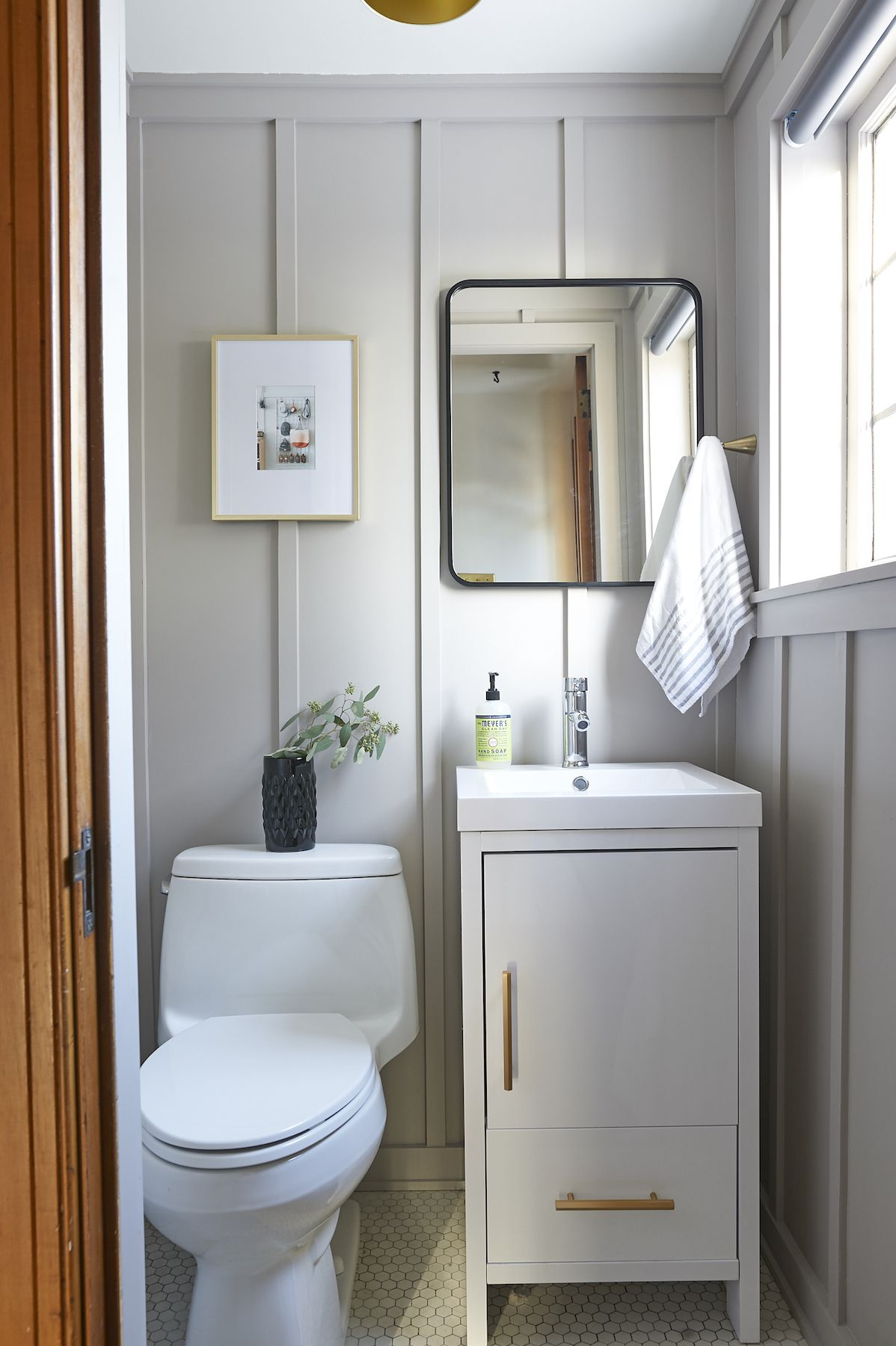 7 Paint Color Trends We Ll See In 2020 Hello Lovely In 2020 Small Bathroom Tiny Bathrooms Powder Room Small