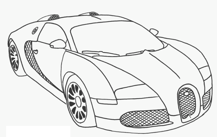 Once Best Race Car Coloring Pages Car Printable Coloring Pages Cars Coloring Pages Race Car Coloring Pages Bugatti Veyron