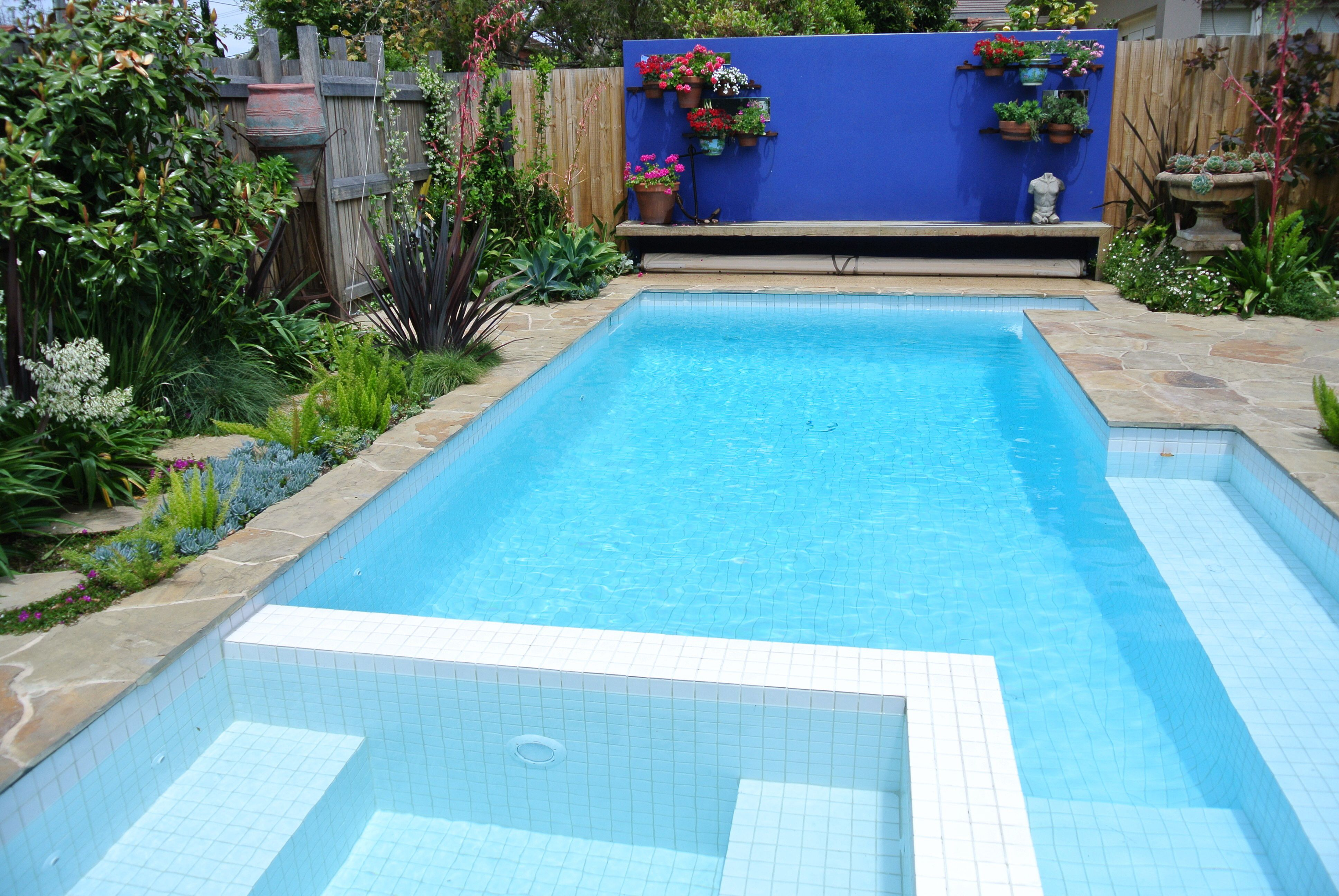 White pool tiles | pools in 2019 | Swimming pool tiles, Glass pool ...
