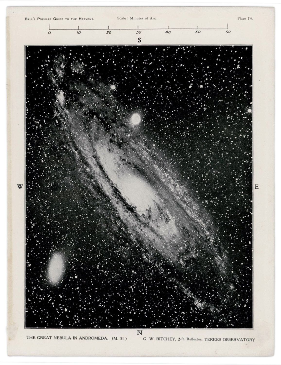 Andromeda Galaxy Artwork Retro Space Nebula Science Graphic Print Vintage Astronomy Illustration Geek Gift Scien Galaxy Artwork Antique Astronomy Prints Nebula