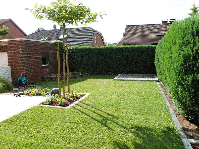 Kleiner, pflegeleichter Garten #vorgartenanlegen