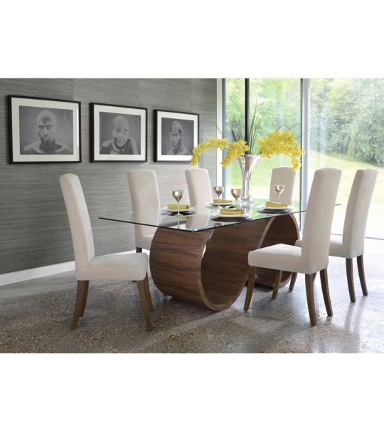Swirl Dining Table From Tom Schneider | Mia Stanza Amazing Pictures