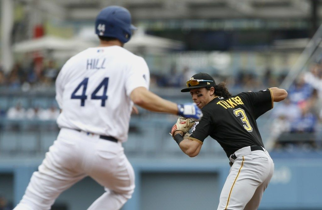 Dodgers Climb Back From Early Deficit Complete Sweep Of Pittsburgh Pirates Pittsburgh Pirates Dodgers Pittsburgh