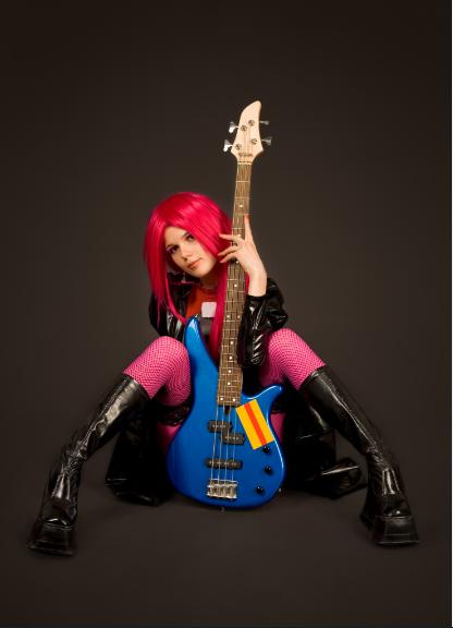 Sexy Punk Rock Girl