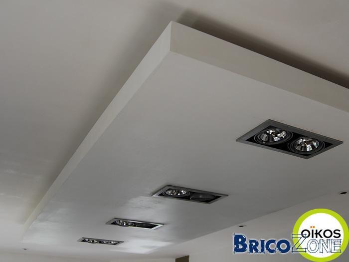 Faux plafond clairage indirect plafond cuisine plafond - Faux plafond suspendu lumineux ...