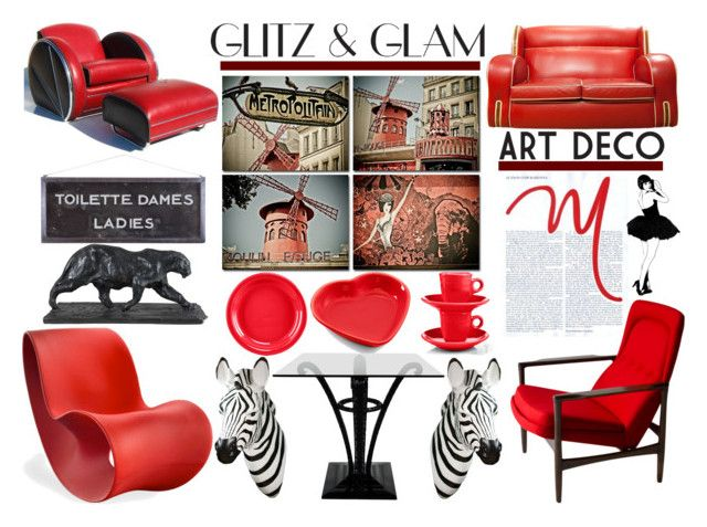 """""""glitzglam"""" by my-artsy-soul ❤ liked on Polyvore featuring interior, interiors, interior design, home, home decor, interior decorating, Fiesta, Magis, Design 55 and Brooks"""