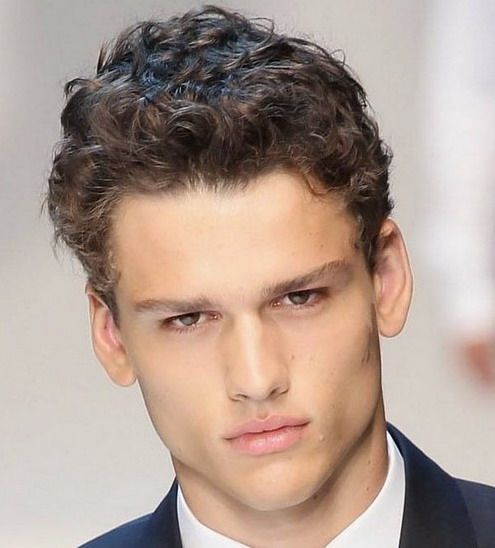 Hairstyles For Men With Curly Hair Classy Boys Curly Haircut Styles  Best Men's Hairstyles 2013  Hairstyles