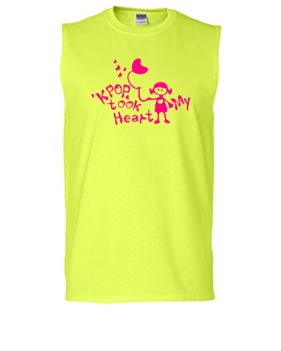 KPOP took my heart txt girl - Sleeveless T-shirt