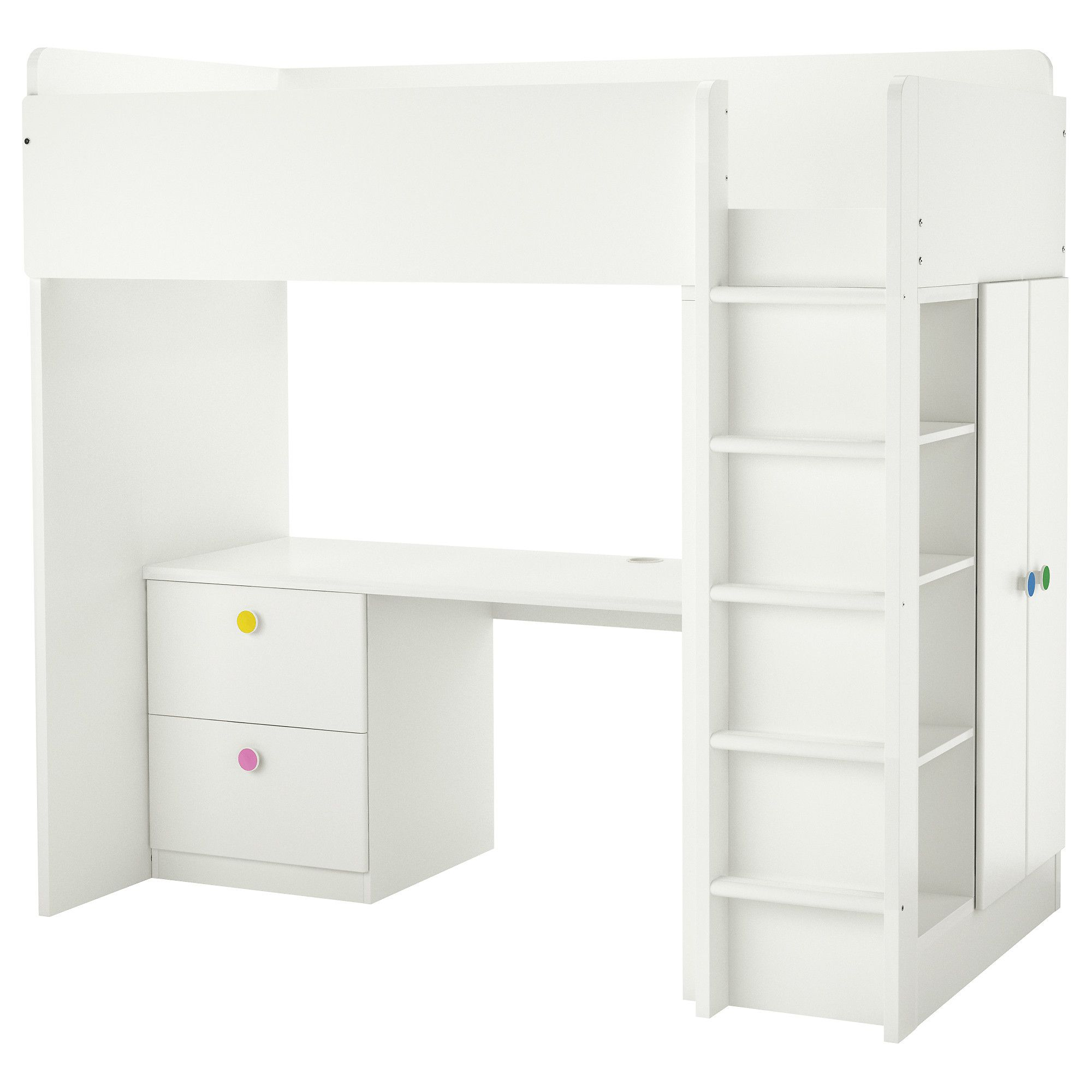 white have desk combo the for excellent method bunk of bed new loft we kids beds