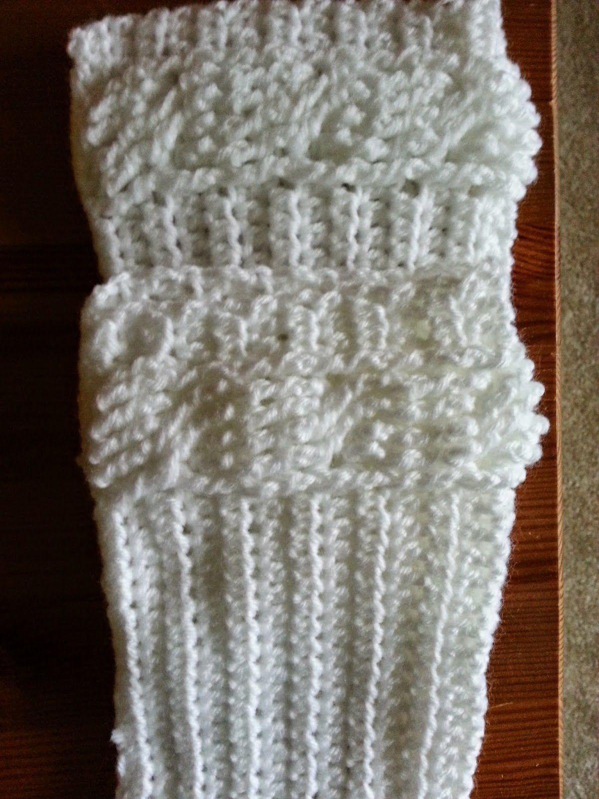 crochet cables and boot cuffs pattern | medicina | Pinterest | El ...