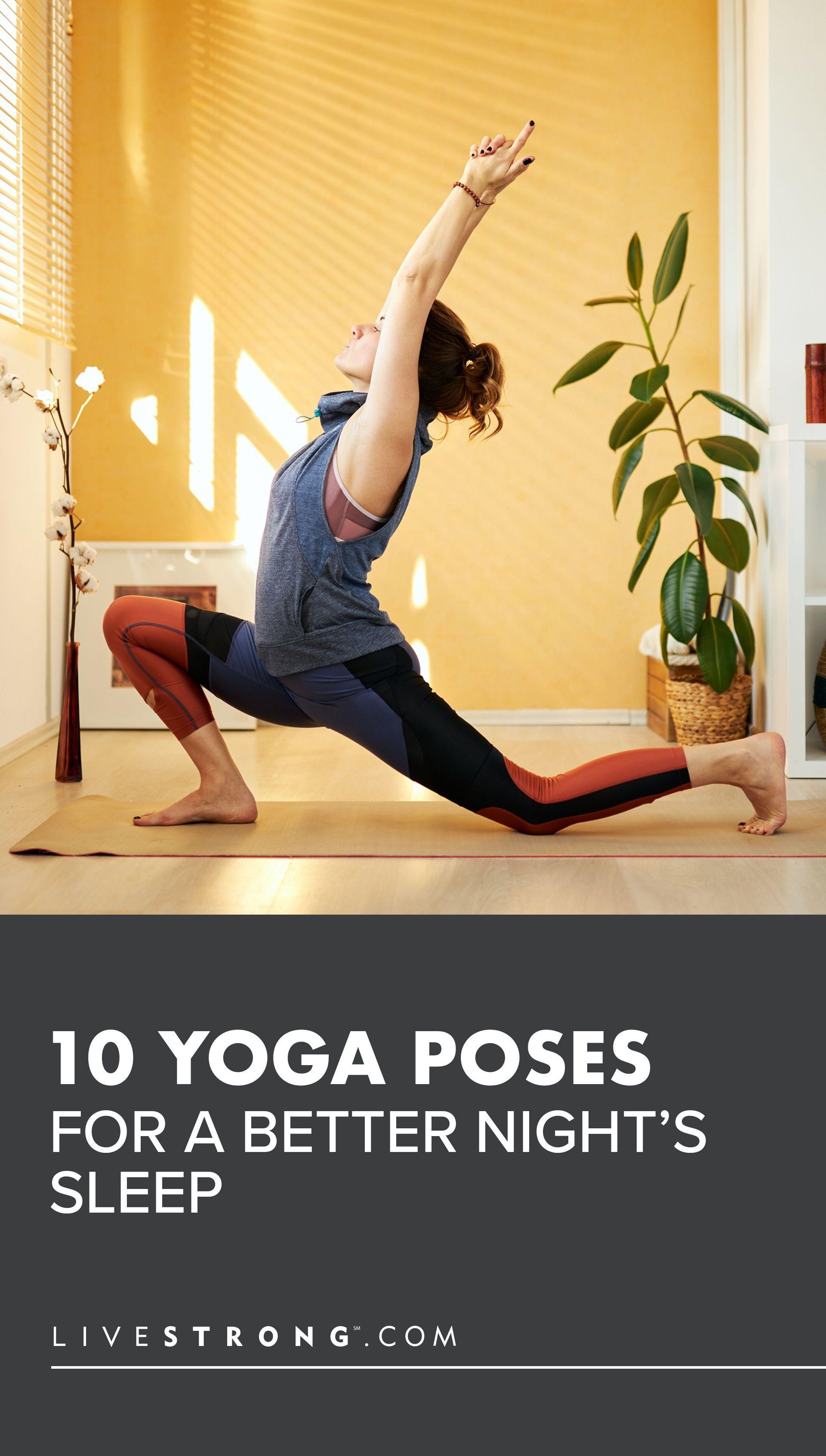 10 Yoga Poses for a Better Nights Sleep | Livestrong.com