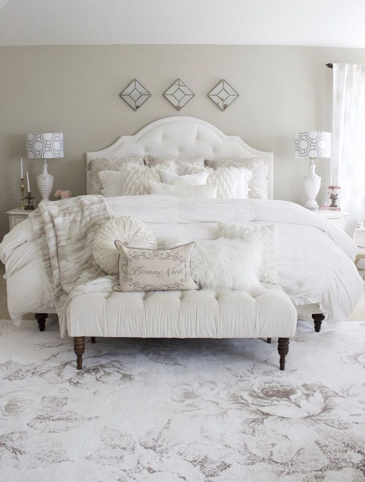 White Bedroom Ideas | Home Design & Lifestyle | Jennifer Maune