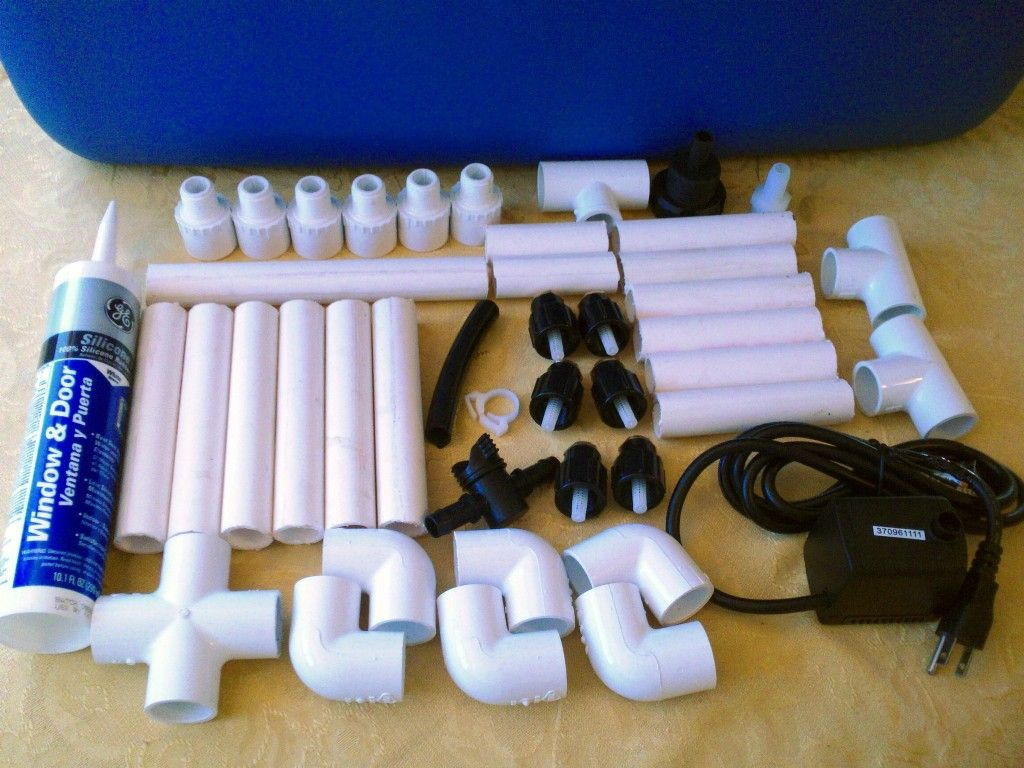 Materials For The Aeroponics System Aquaponics 400 x 300