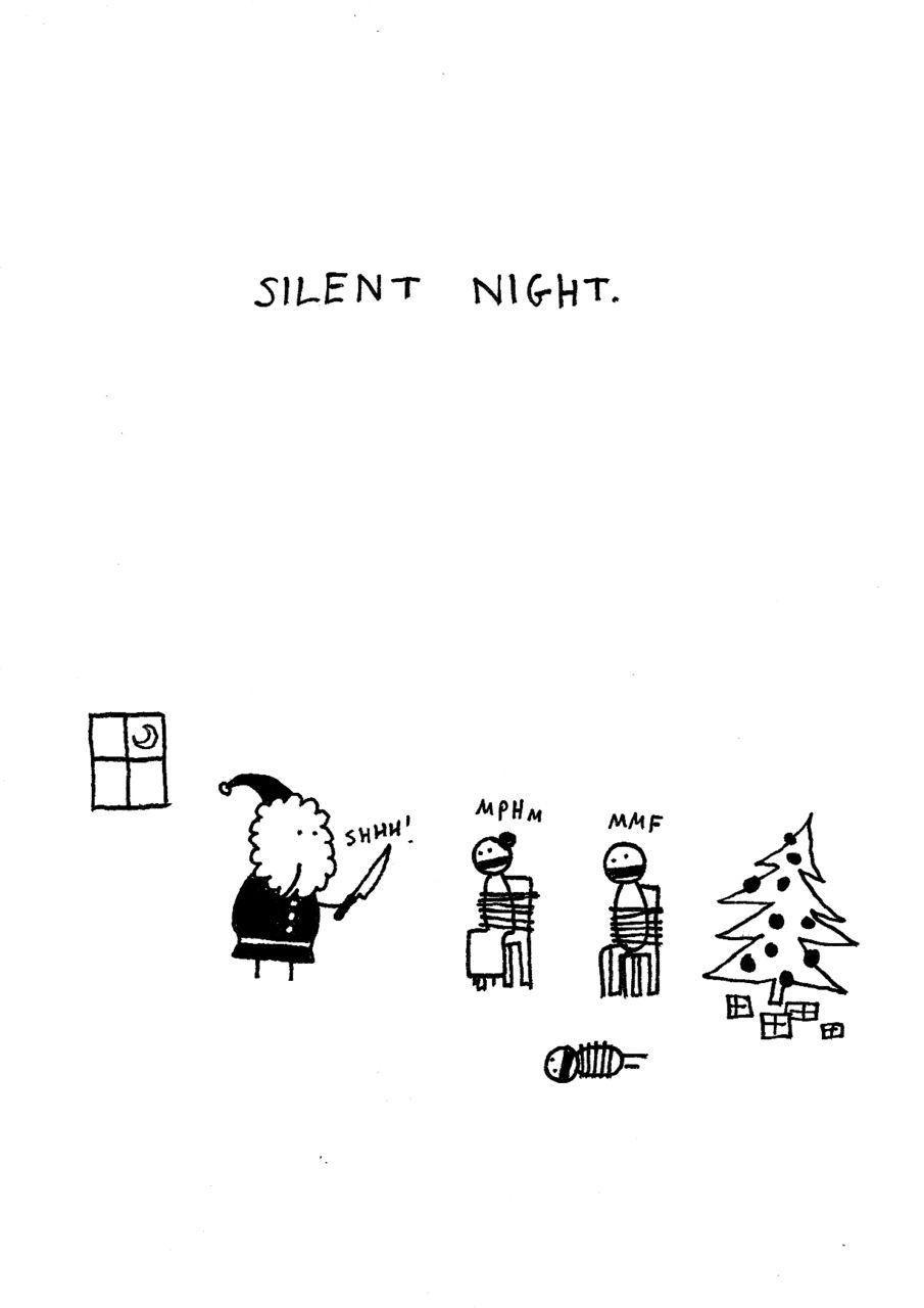 silent night. by hugleikur dagsson | FUNNY | Pinterest | Funny ...