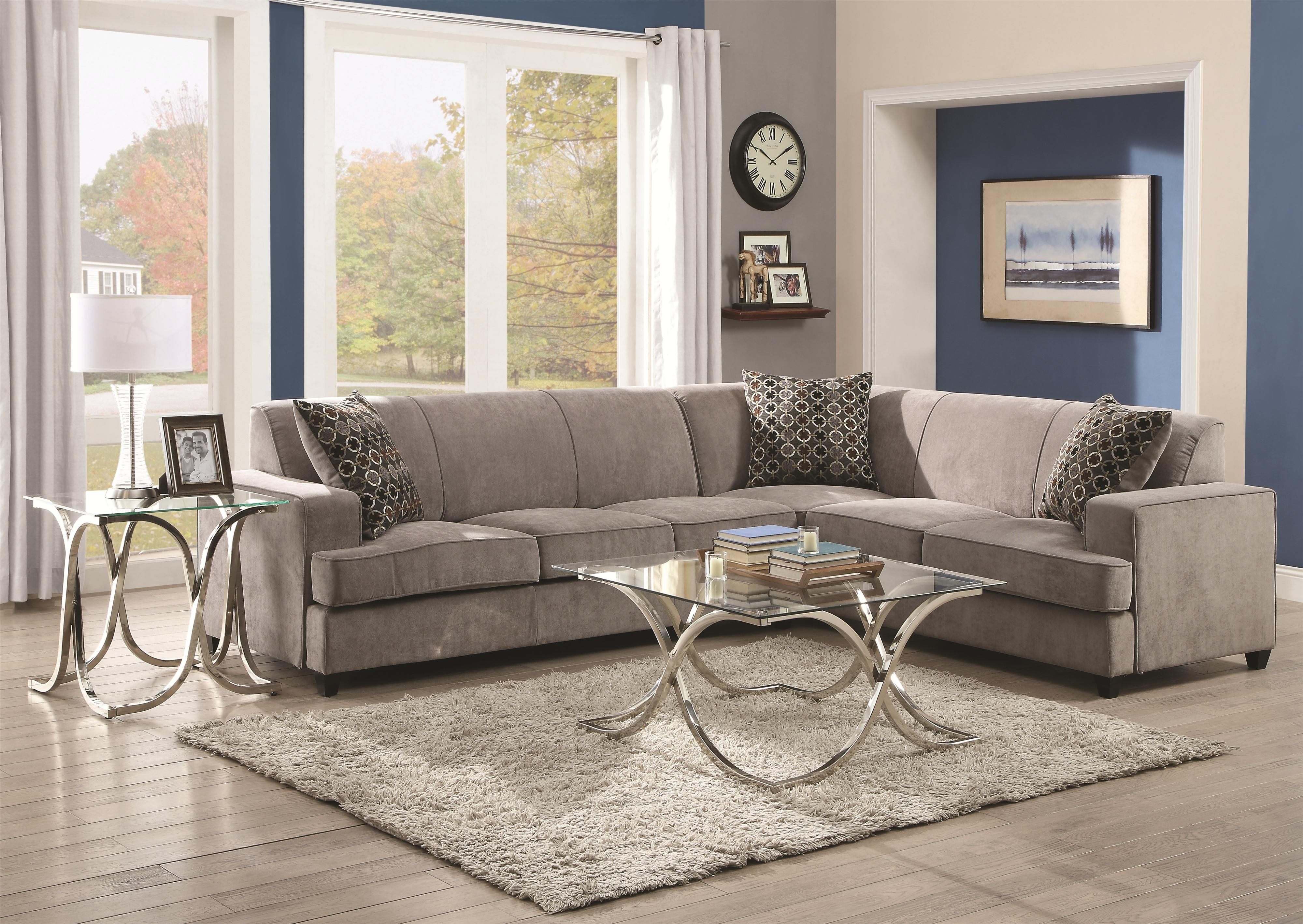 Tess Sectional Sofa for Corners by Coaster