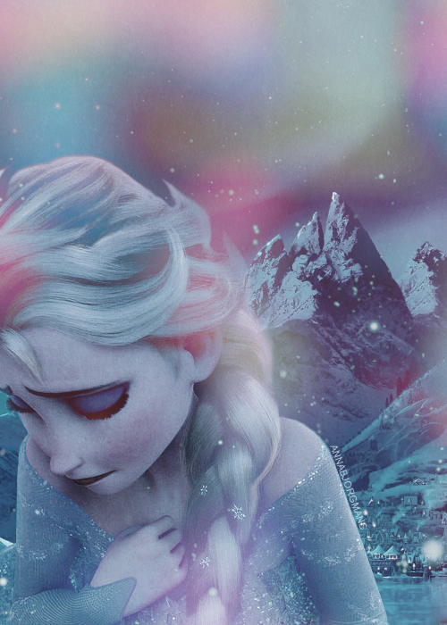 I feel so bad for elsa and kind of connected to her as a character I think frozen actually kind of has a deepish message