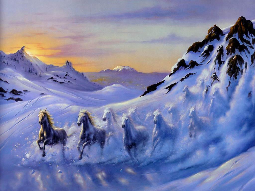 Horse Painting Download Horses Wallpaper 39 Paint Horse