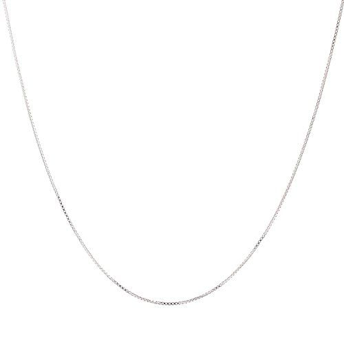 [$9.56 save 65%] Amazon Lightning Deal 70% claimed: 925 Sterling Silver 1MM Box Chain Italian Crafted Necklace T... #LavaHot http://www.lavahotdeals.com/us/cheap/amazon-lightning-deal-70-claimed-925-sterling-silver/135110