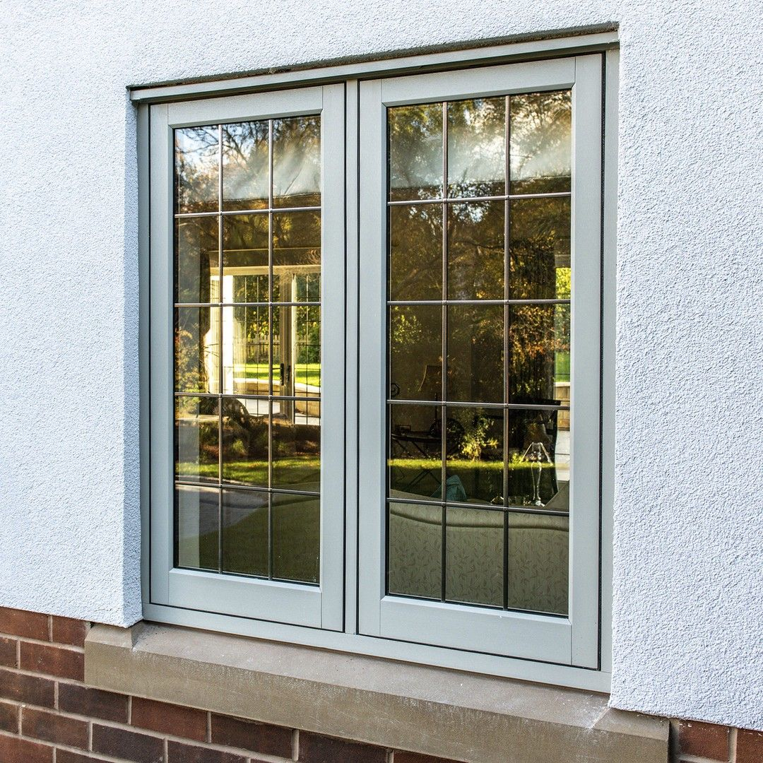 Timber Effect Flush Casement Windows In Painswick With Features Such As An Optional Deep Bottom Rail And Conc In 2020 With Images Windows Window Styles Timber Windows
