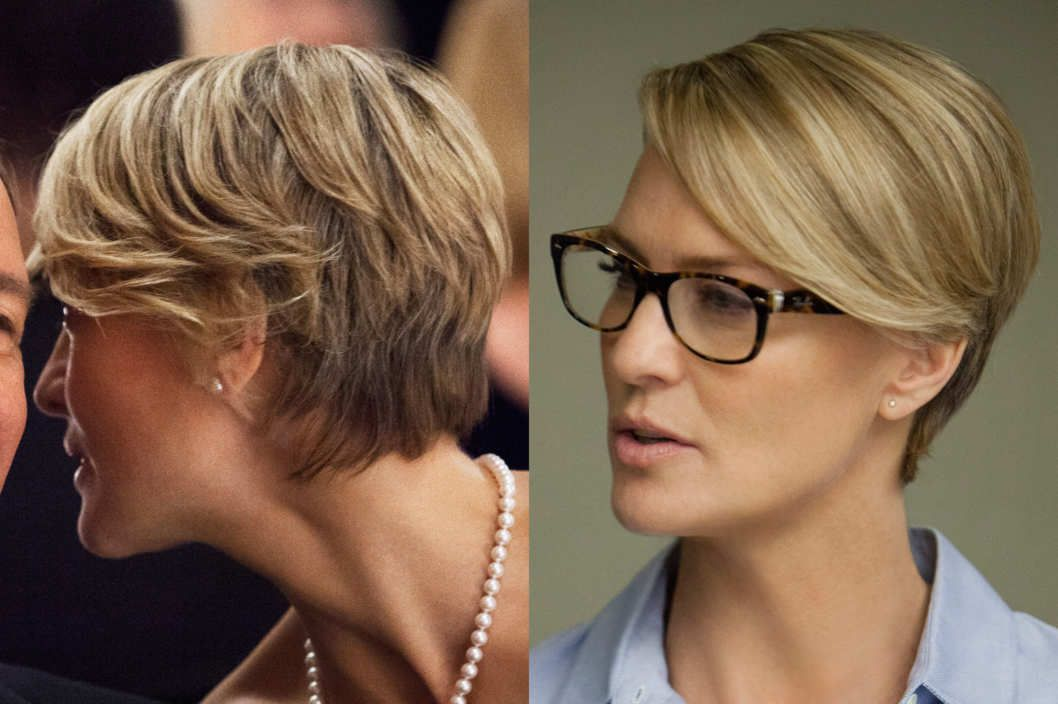 Best Haircut Robin Wright On House Of Cards Hubsch Anzusehen