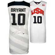 ... Autographed Los Angeles Lakers Kobe Bryant White USA Jersey with 2X  Gold Inscription - Limited Edition of 110 - Panini Authentic - AdoreWe.com 3d847ae9e