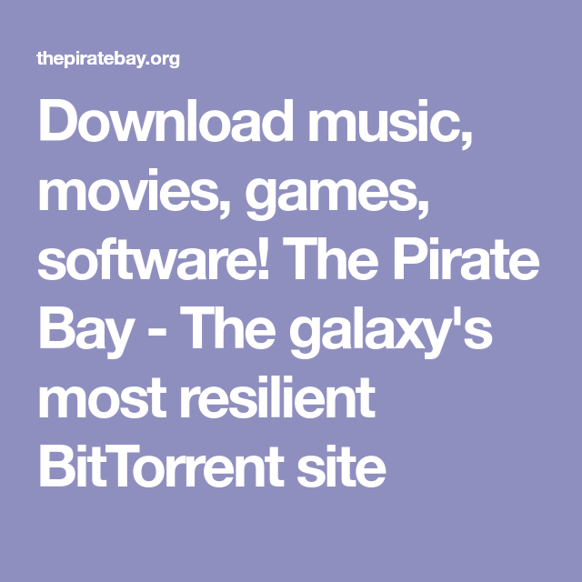 the pirates bay movies download