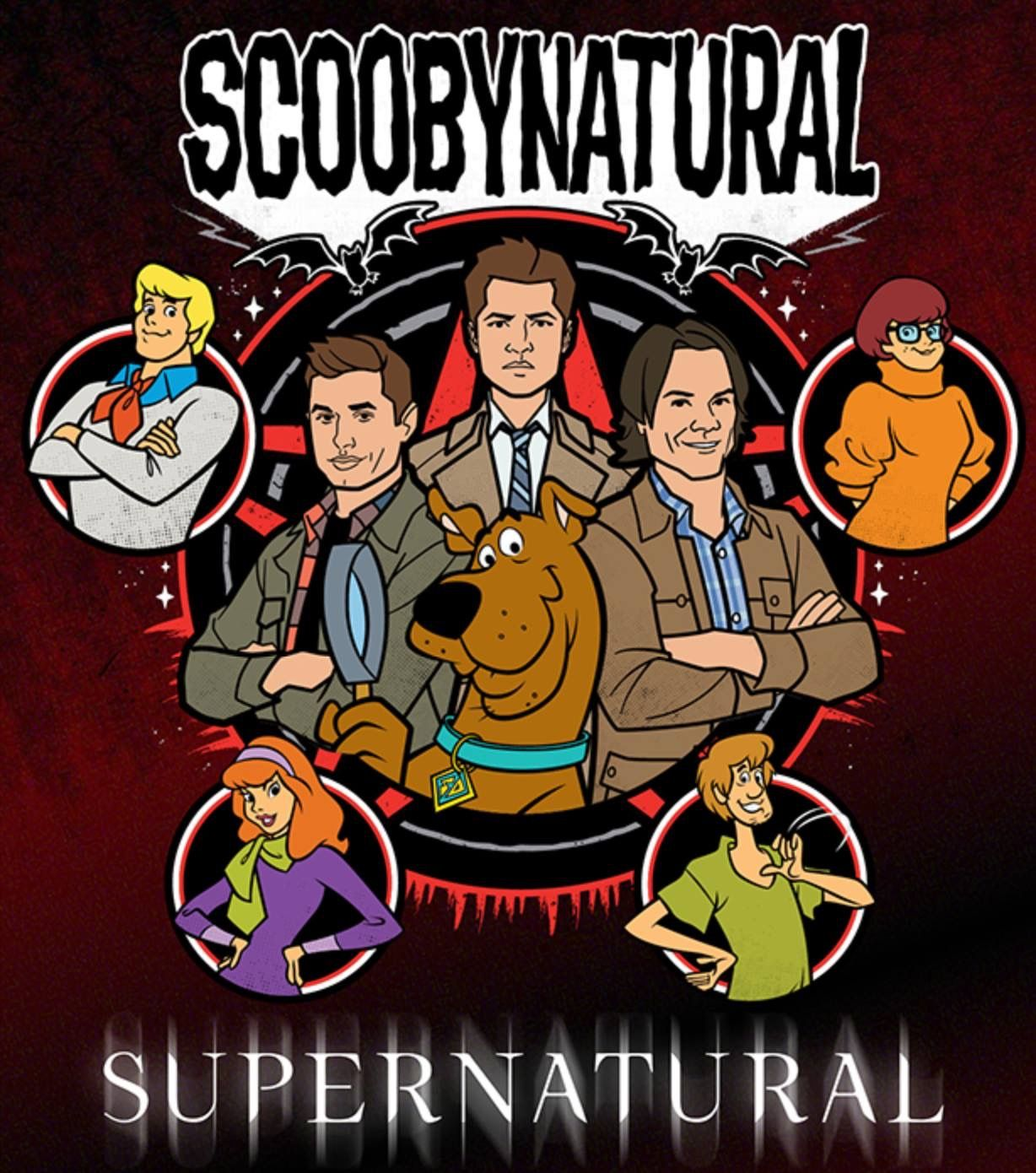 SCOOBYNATURAL(supernatural) Dessins supernatural, Dessin