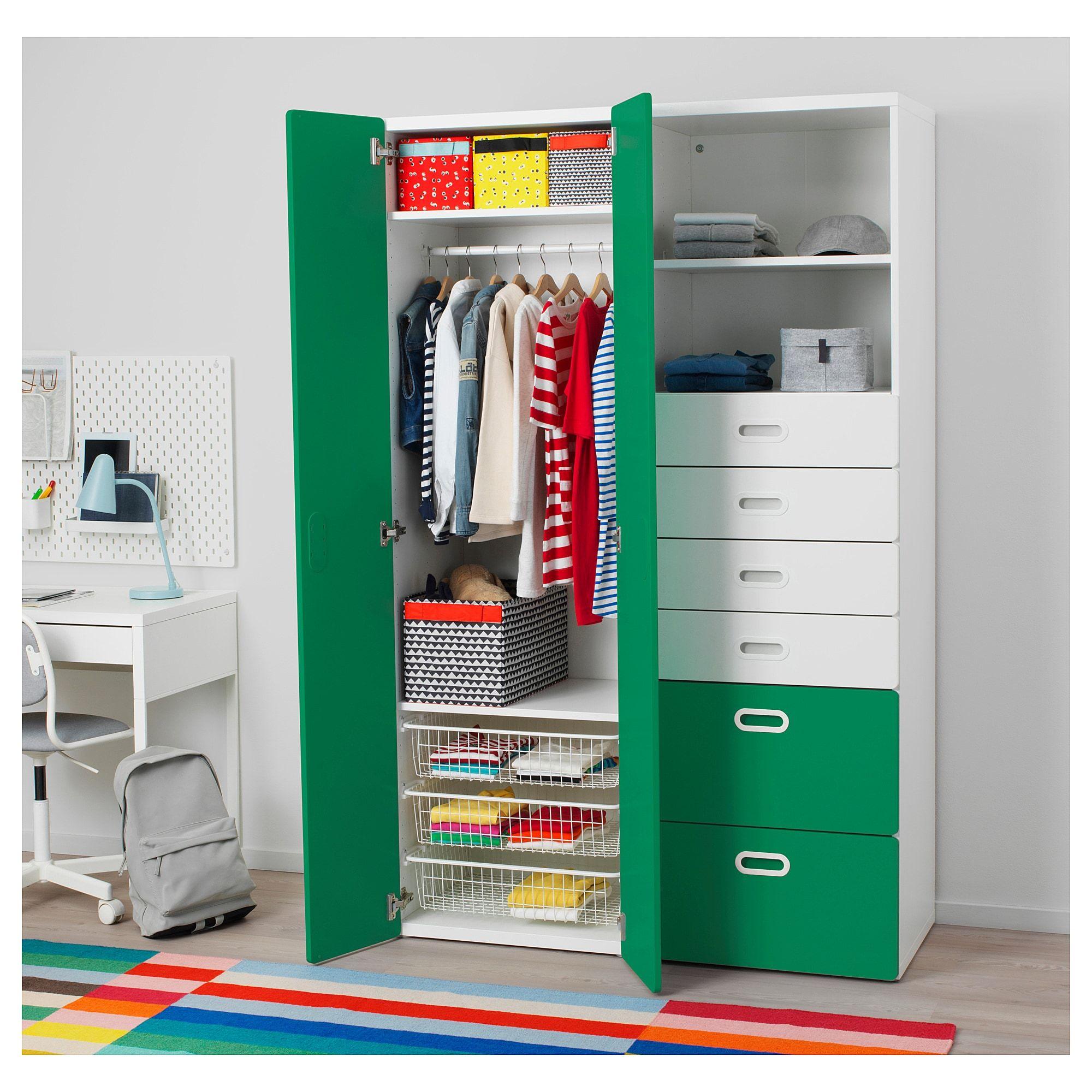 Mobili E Accessori Per L Arredamento Della Casa Guardaroba Bianco Idee Ikea Organizzare La Camera Dei Bambini