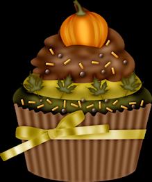 October Cake Clip Art : LKD_GivingThanksTS_cupcake2.png ~ Cupcakes ~ Pinterest ...