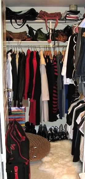 5x5 Closet. Maybe 2 Side By Side?