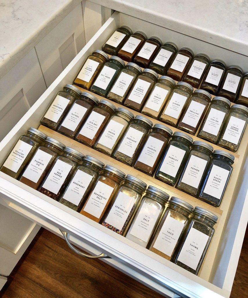 DIY – spice drawer